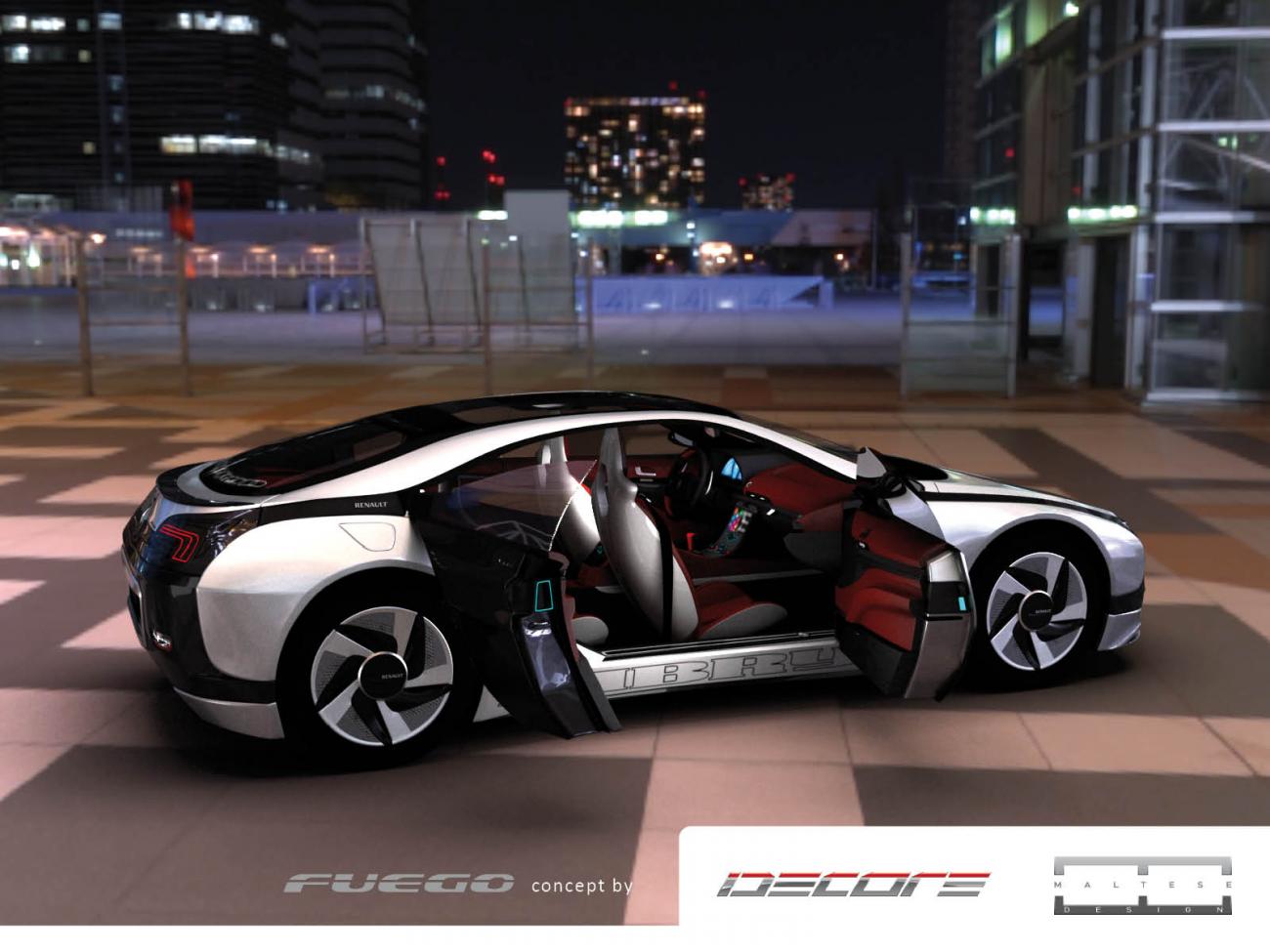 renault fuego concept la vision d 39 idecore blog automobile. Black Bedroom Furniture Sets. Home Design Ideas