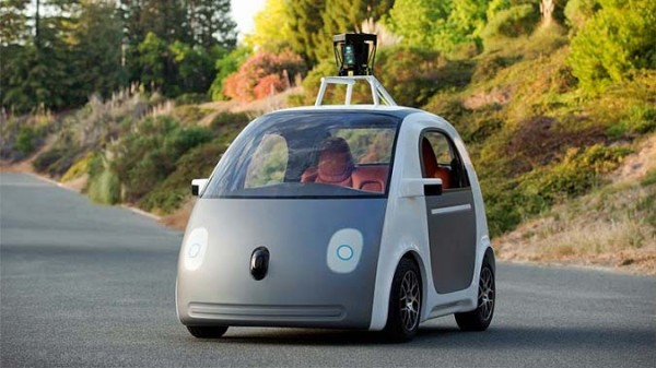 Google car sans volant
