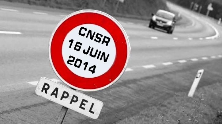 Le CNSR décale d'un mois son assemblée plénière dédiée aux 80 km-h
