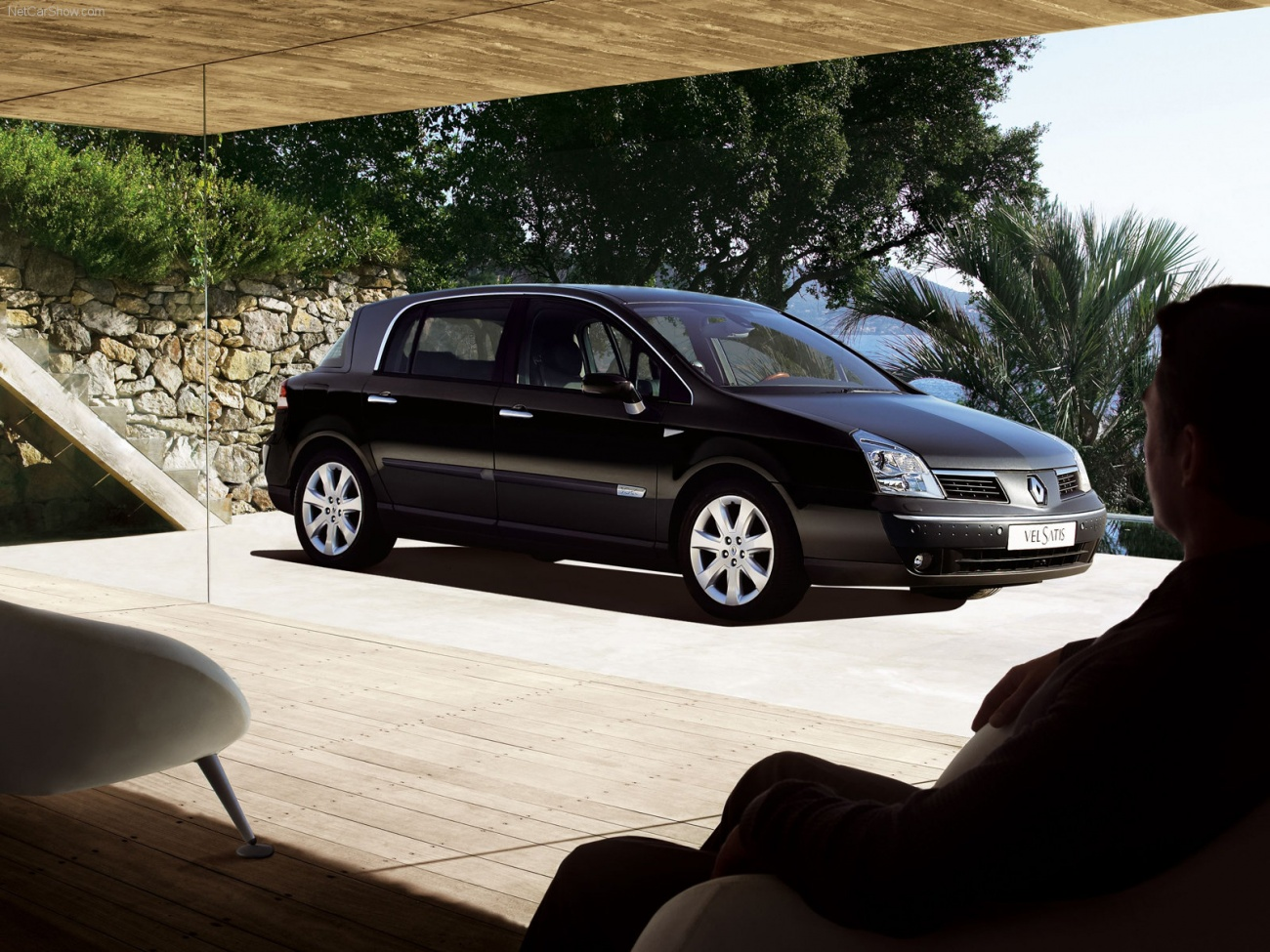 renault vel satis une royale voiture blog automobile. Black Bedroom Furniture Sets. Home Design Ideas