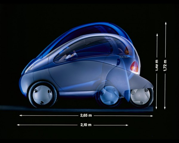 Renault Zoom Concept 1992 usine 1