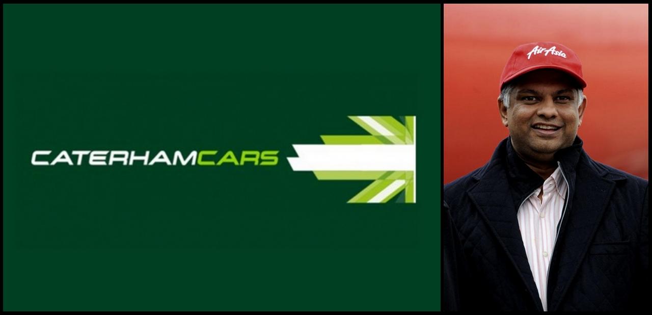 Tony Fernandes et Caterham