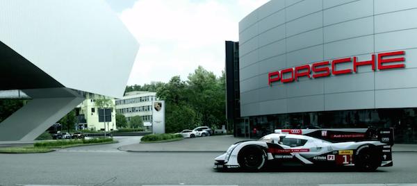Audi devant Porsche - 24h du mans