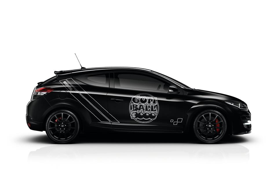 Megane RS Gumball 3000