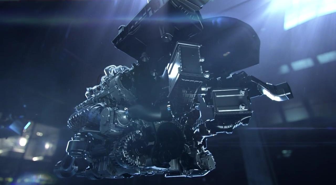 Mercedes Benz le moteur M178