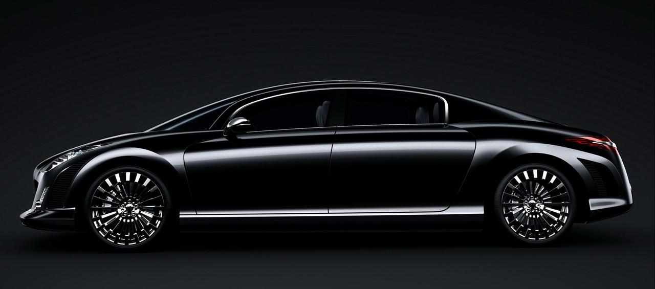 le dessein bris du concept peugeot rc hybrid4 blog automobile. Black Bedroom Furniture Sets. Home Design Ideas