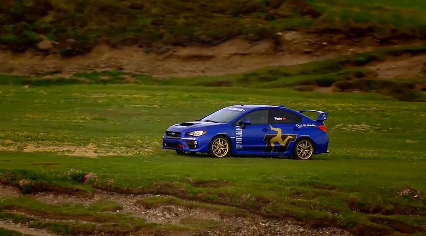 la subaru wrx sti au tourist trophy pas pour les mauviettes vid o blog automobile. Black Bedroom Furniture Sets. Home Design Ideas