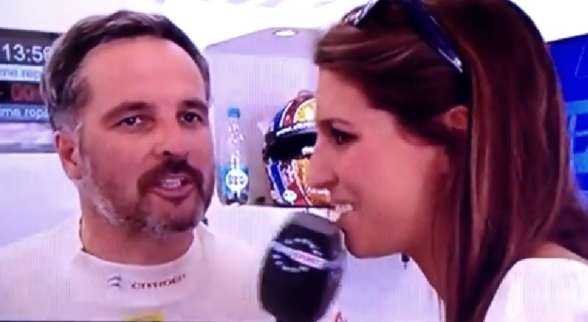 Yvan Muller WTCC tacle Laury Thilleman