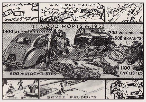 accident de la route 1953