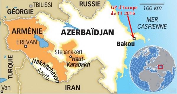 Azerbaidjan ou le nouveau GP d'Europe 2016