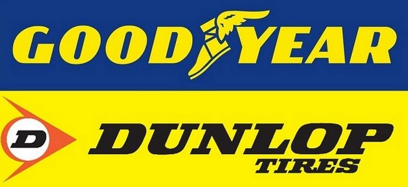 Goodyear - Dunlop vient en France
