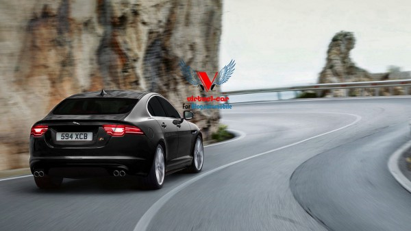 Jaguar XE-R -rear- par Khalil B pour Blogautomobile.fr