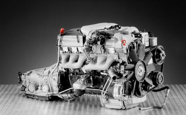 Mercedes benz Moteur 6 cylindres