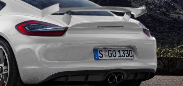 Porsche Cayman GT4 Ar -détail- par Khalil B. pour Blogautomobile.fr