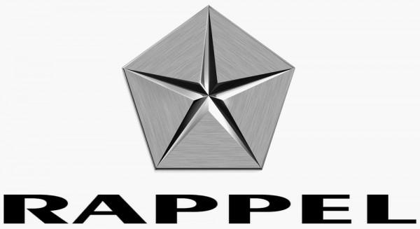 logo Chrysler rappel