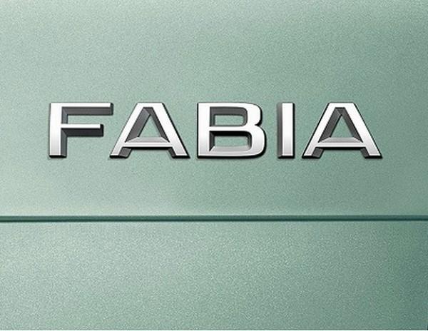 logo skoda fabia