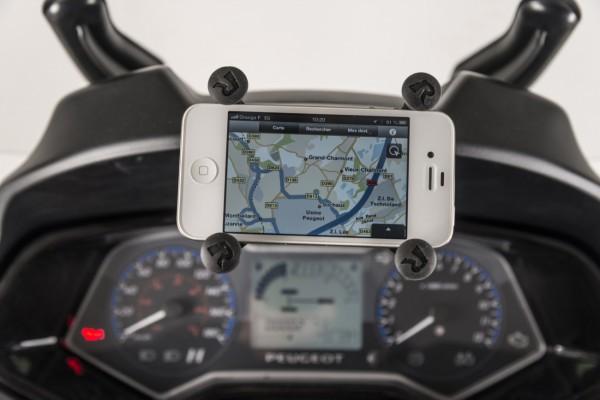 support smartphones Peugeot Metropolis