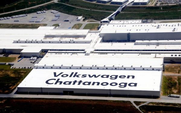 usine americaine Volkswagen de Chattanooga