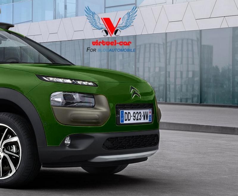 Citroën C4 Cactus Cross Aventure par Khalil B pour Blogautomobile