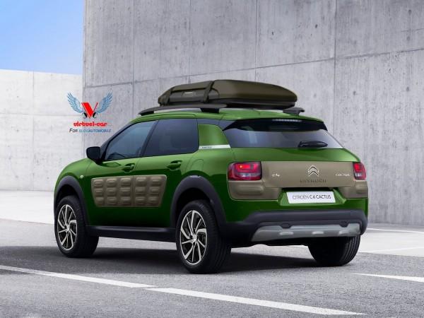 Citroën C4 Cactus Cross Aventure par Khalil B pour Blogautomobile.2