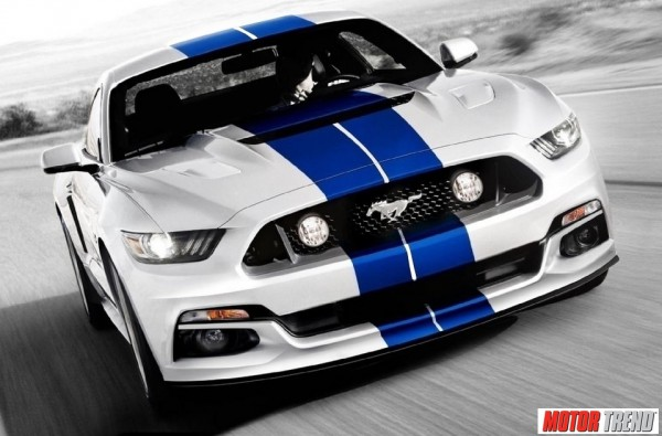 Ford Mustang GT350 2016 par MotorTrend