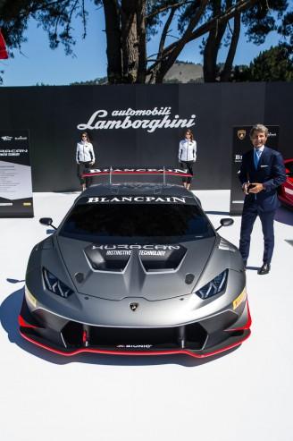 Lamborghini Huracan LP 620-2 Super Trofeo.