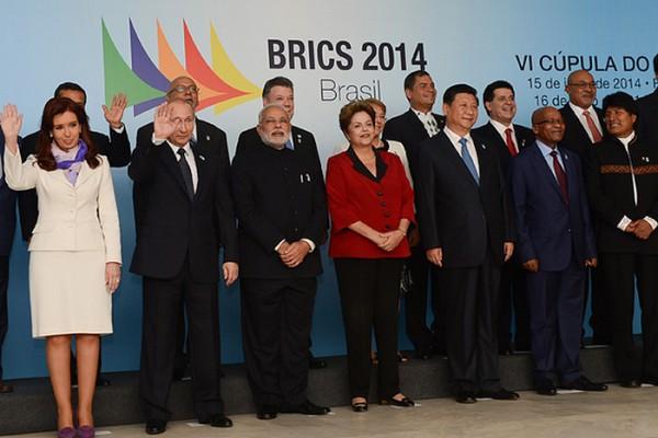 Les pays fondateurs de la banques de BRICS en juillet derniers et les sympathisants