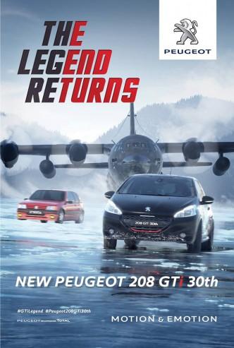 205 GTI et 208 GTI 30 th