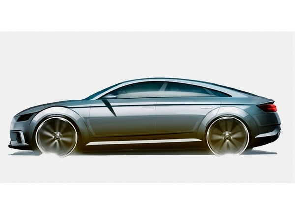 audi tt sportback concept un tt avec des portes 224 l arri 232 re automobile