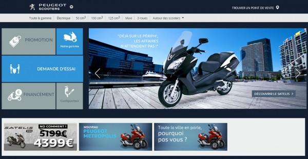 Peugeot scooters bientot cédé à mahindra