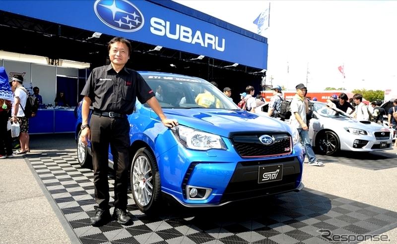 Subaru Forester STi TS 2015