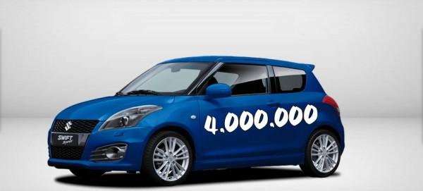 Suzuki Swift - 4 millions d'exemplaires
