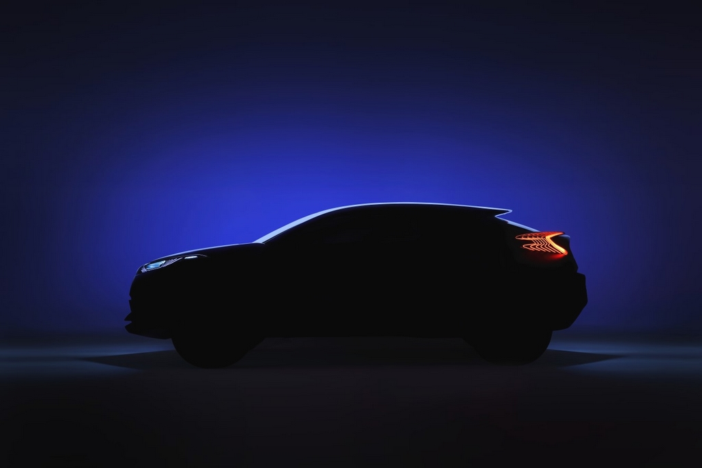 Teaser-Toyota-CHR-Crossover Concept