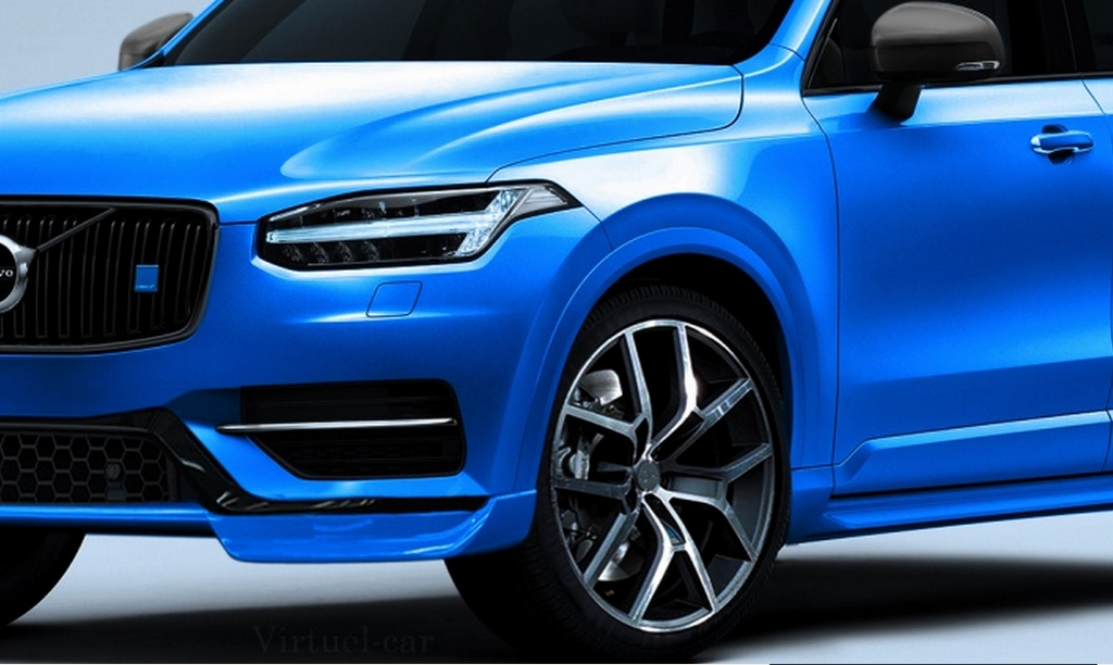 nouveau volvo xc90 dans la vie y 39 a pas que la version r design il y a aussi la polestar. Black Bedroom Furniture Sets. Home Design Ideas