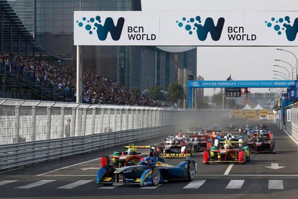 formula E GP de Pekin 2014.1