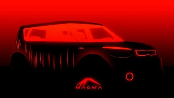 kia Soul Magma Concept teaser