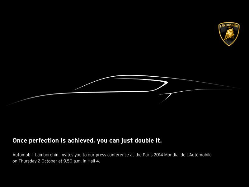 lamborghini-teaser Mondial de l'automobile