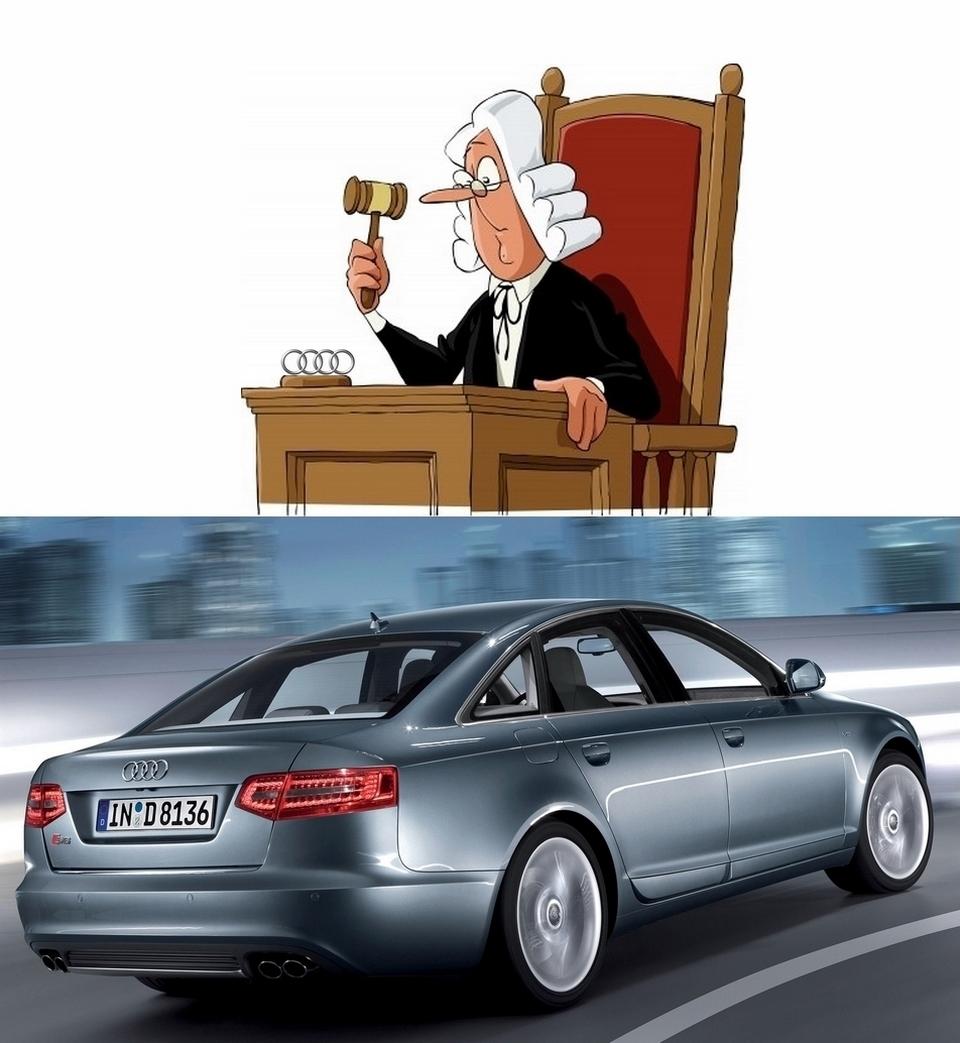 le propri taire d 39 une s6 emm ne audi au tribunal blog automobile. Black Bedroom Furniture Sets. Home Design Ideas