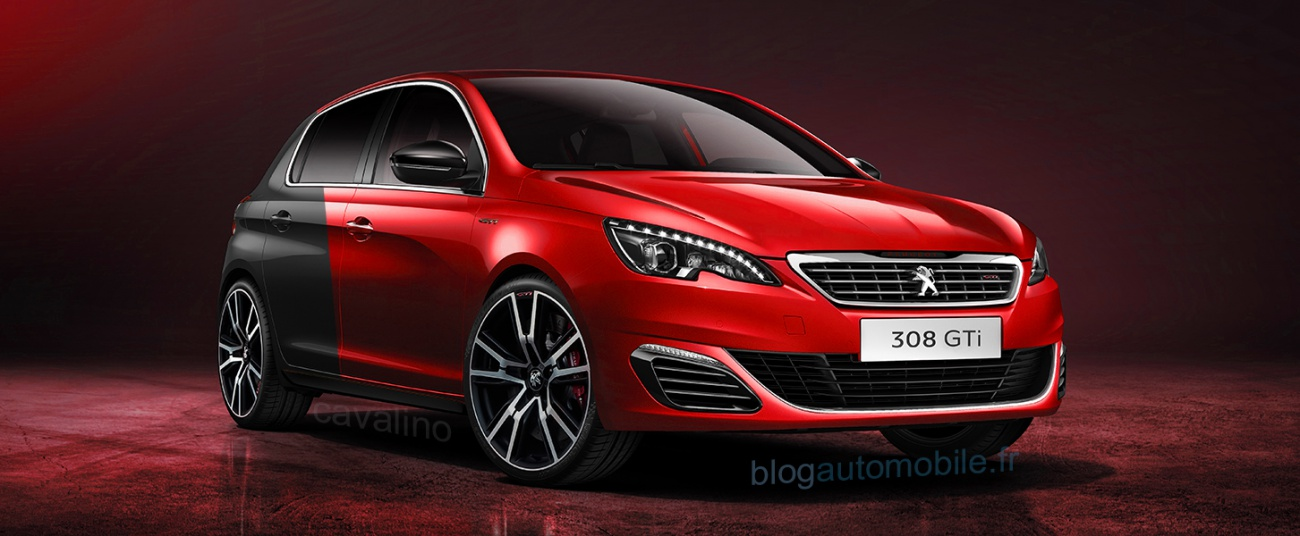 peugeot 308 gti the heir of the 309 gti16 blue miami in. Black Bedroom Furniture Sets. Home Design Ideas