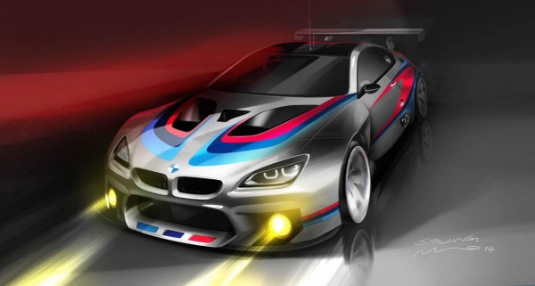 BMW M6 GT3 Teaser.1