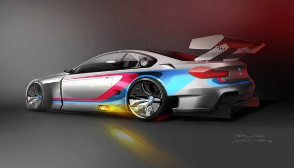 BMW M6 GT3 Teaser.2