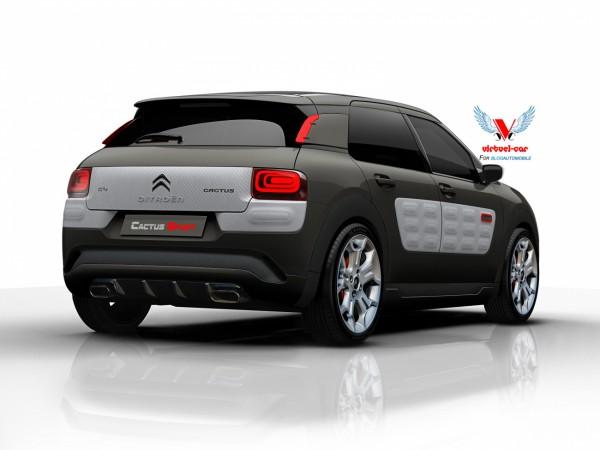 Citroën C4 Cactus Sport Arrière