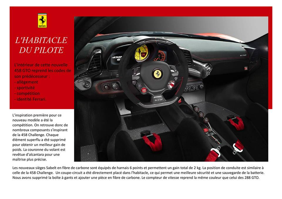 Catalogue  F458  GTO.4