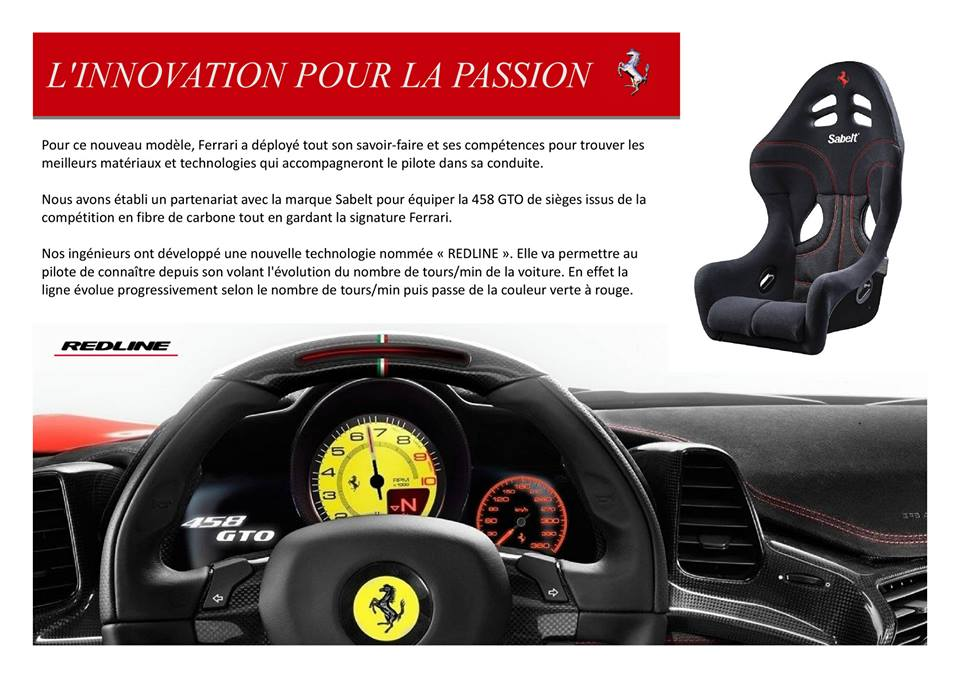 Catalogue  F458  GTO.5