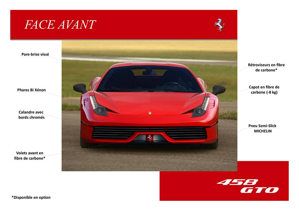Catalogue  F458  GTO.6