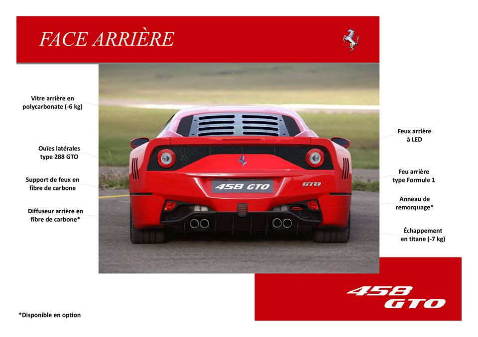 Catalogue  F458  GTO.7