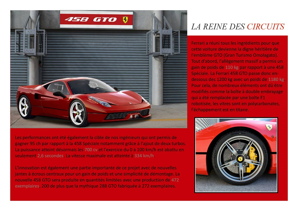 Catalogue  F458  GTO.8