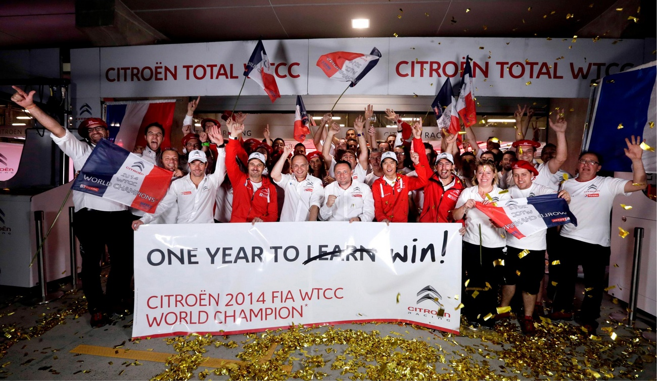 Citroën champion WTCC 2014