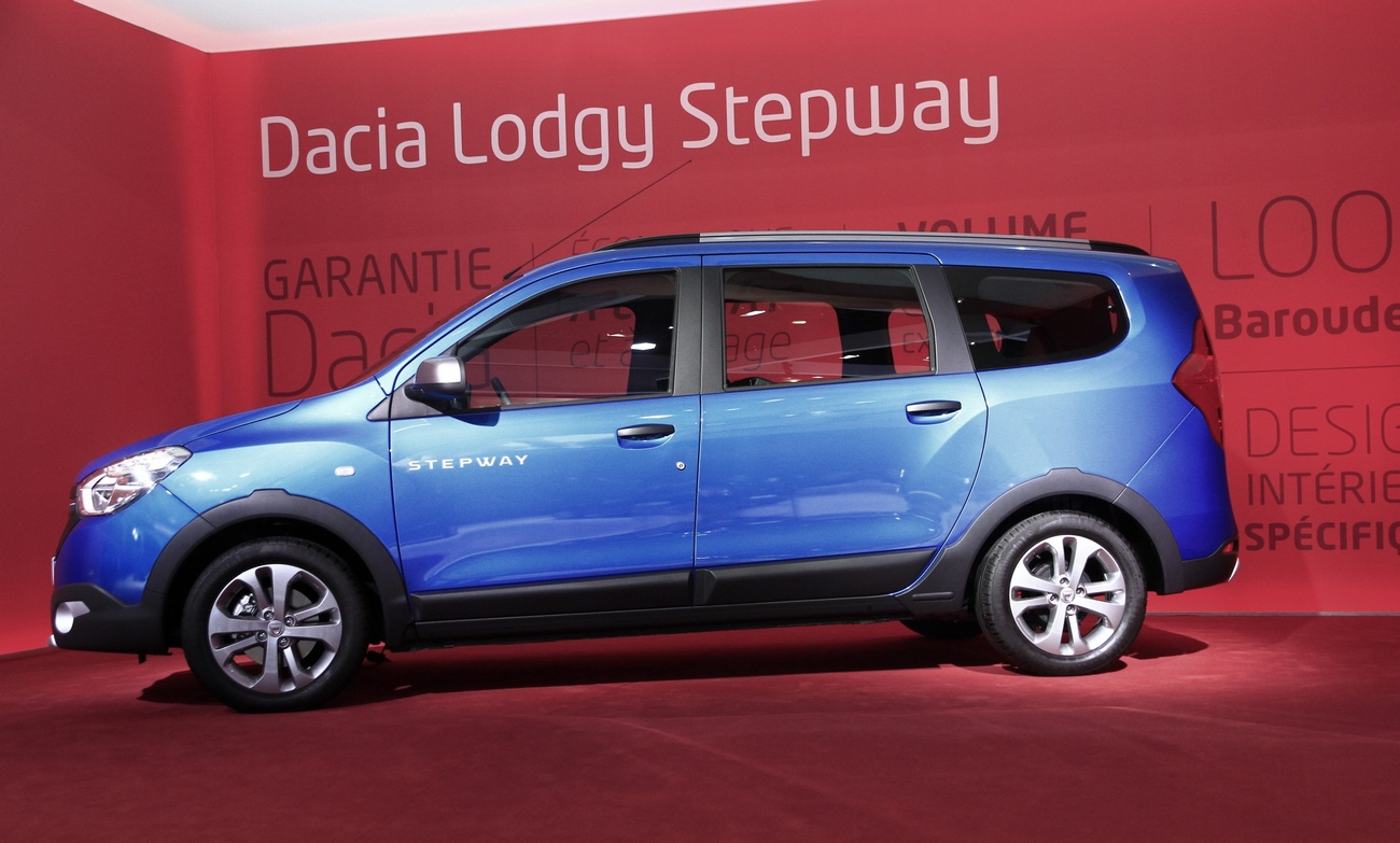 dacia lodgy stepway 1 blog automobile. Black Bedroom Furniture Sets. Home Design Ideas