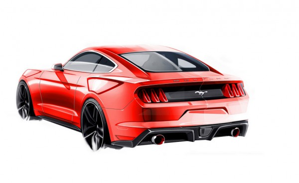 Ford Mustang 2015.4